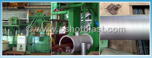 Pipe Cleaning Shot Blasting Machines Pipe Blasting