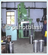 railway components shot blasting machine
