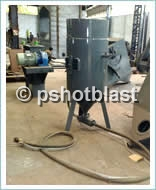 sandblast pot equipment