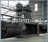 Coil & Wire Shot Blast Machines