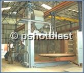 Swing Table Shot Blasting Machines