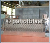 Wire Mesh Shot Blasting Machines