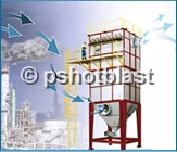 Shot Blasting in Air Polution Control Industry
