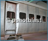 Shot Blasting in Rail Road Industry